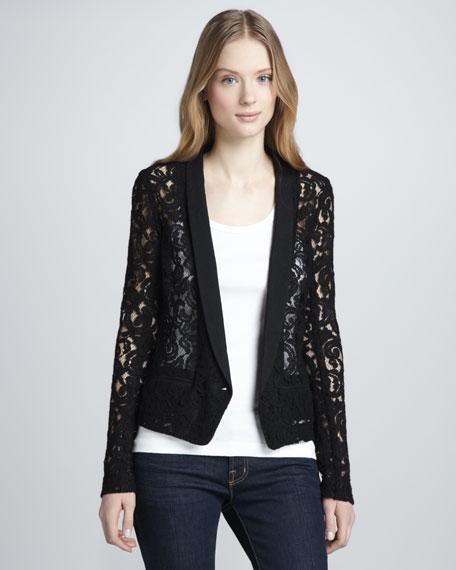 Sheer Lace Jacket