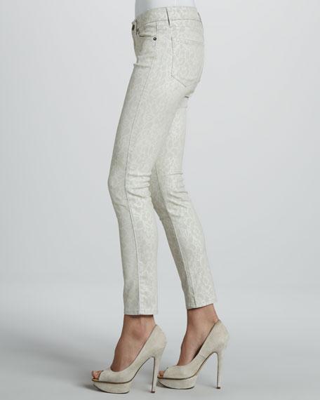 Skinny Vital Lace Ankle Peg Jeans