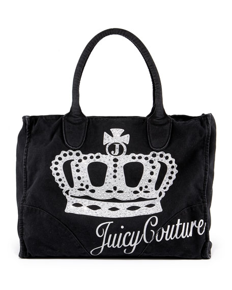 Icon Bling Canvas Tote