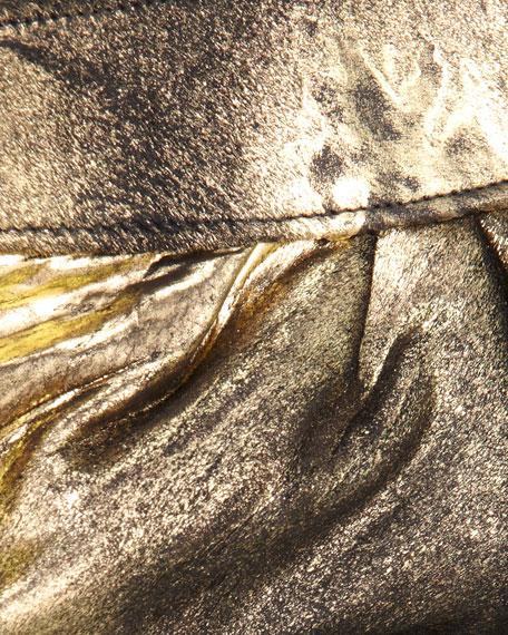Louise Calf Hair Clutch
