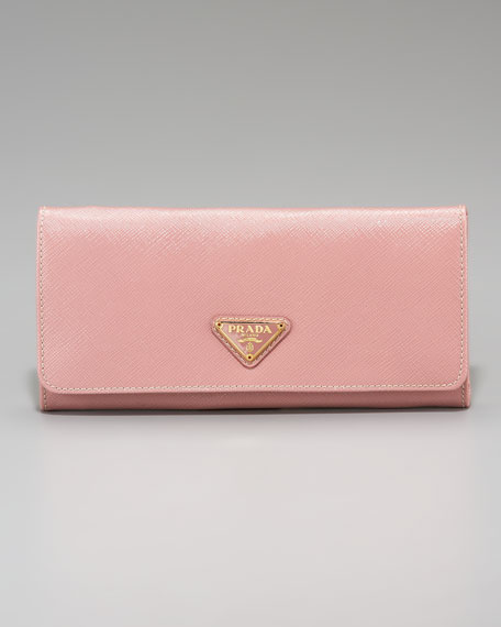 Saffiano Continental Wallet