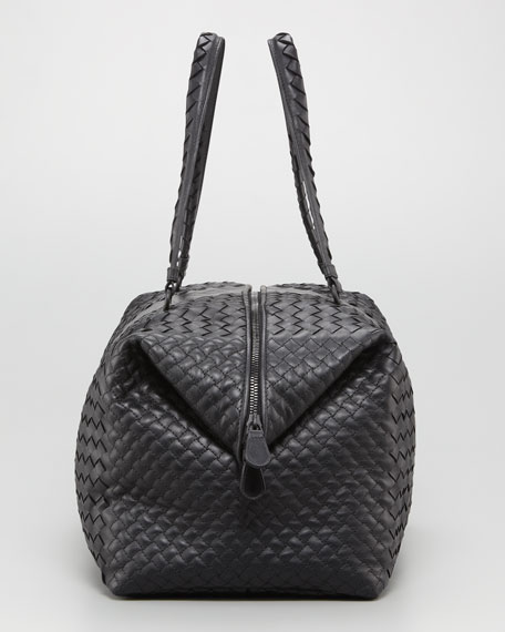 Double-Handle Woven Tote Bag