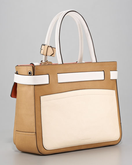 Boxer Tote Bag, Natural/Saturn