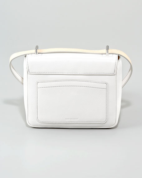 Mini Shoulder Bag, White
