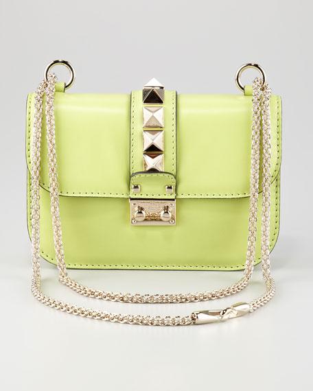 Studded Flap-Top Bag