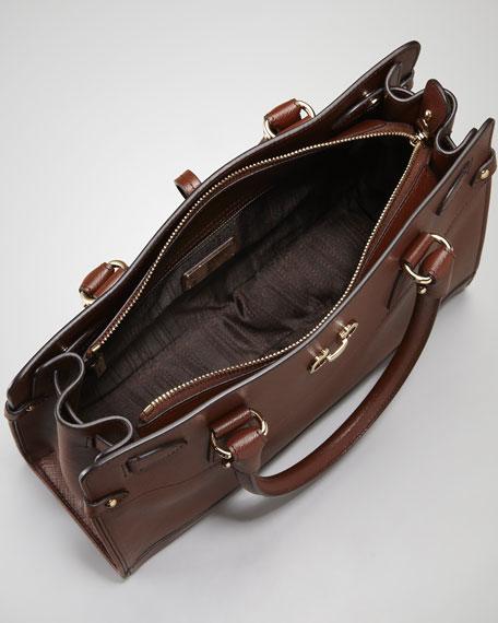 Briana Leather Tote Bag