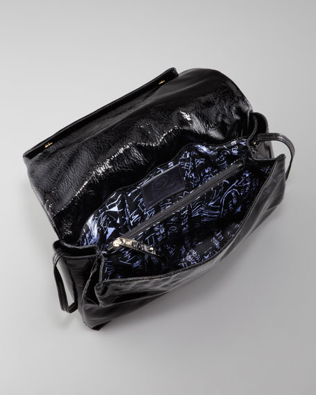 Patent Crossbody Bag