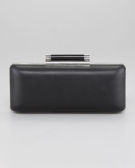 Tonda Metallic Twill Clutch Bag