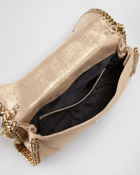 Falabella Metallic Clutch Bag