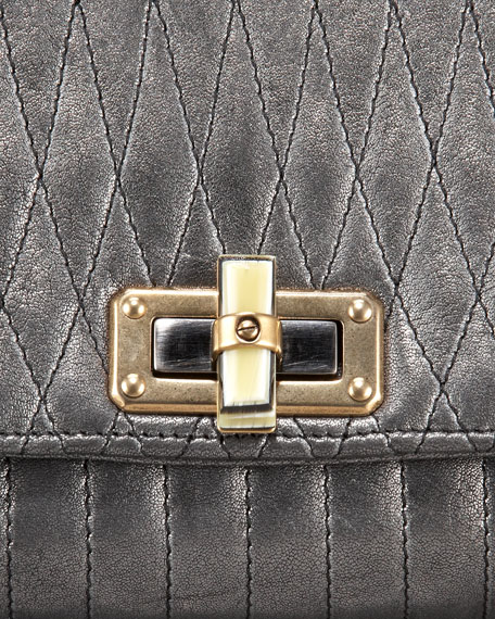 Happicolo Quilted Shoulder Bag