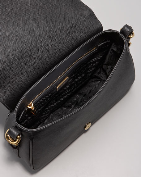 Saffiano Lux Messenger Bag
