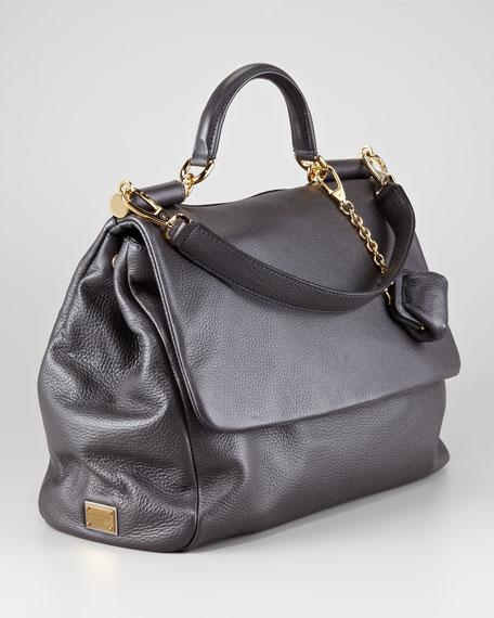 Large Soft Miss Sicily Satchel Bag
