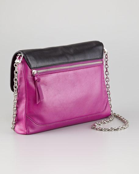 Mimosa Snake-Print Clutch Bag