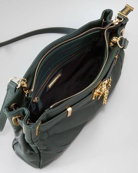 Zoe Pebbled Clutch Bag