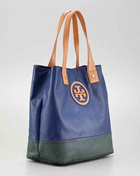 Michelle Colorblock Tote Bag