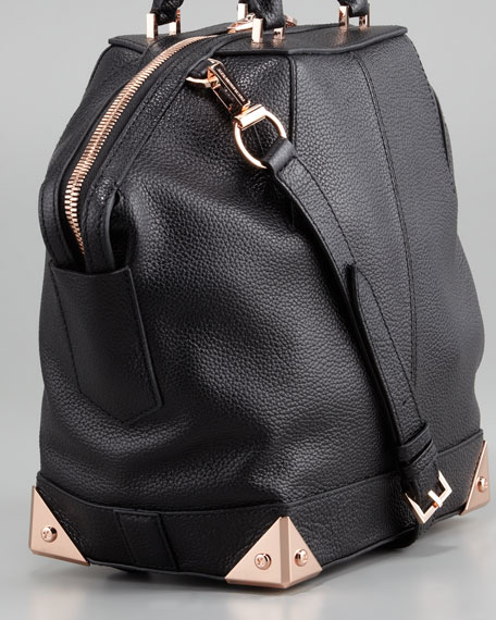 Emile Small Dome Bag, Black