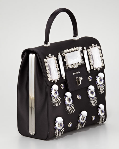Raso Ricamo Handbag