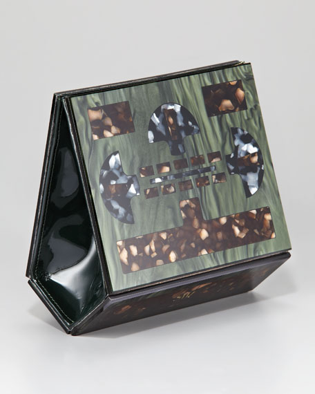 Mosaic Mother-of-Pearl Clutch Bag