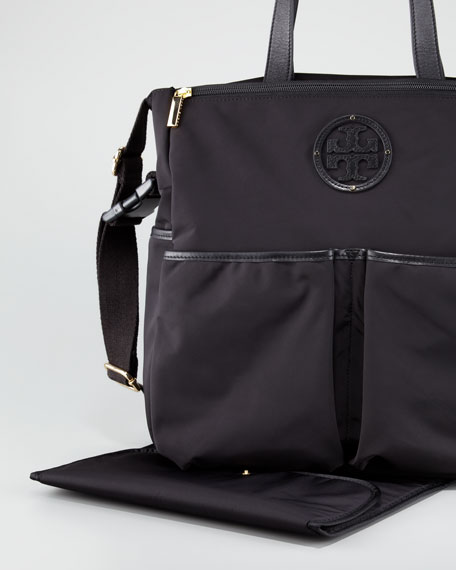 Stacked Logo Billy Baby Bag Black