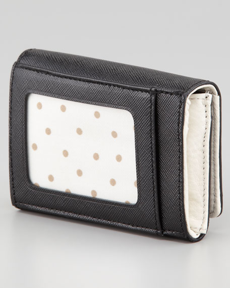 mikas pond darla small key wallet, black