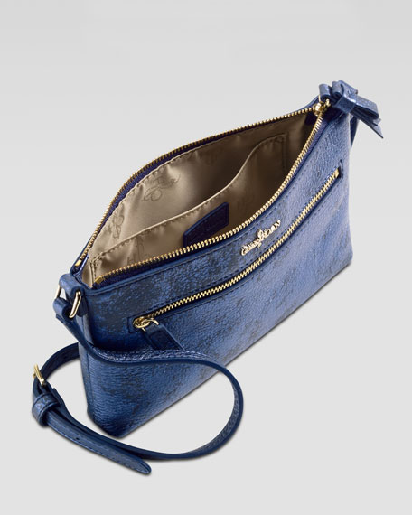 Ali Mini Crossbody Bag, Blue