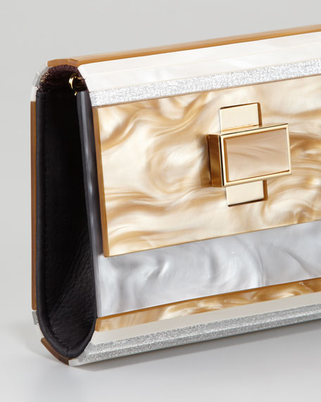 Gerschel Perspex Clutch Bag