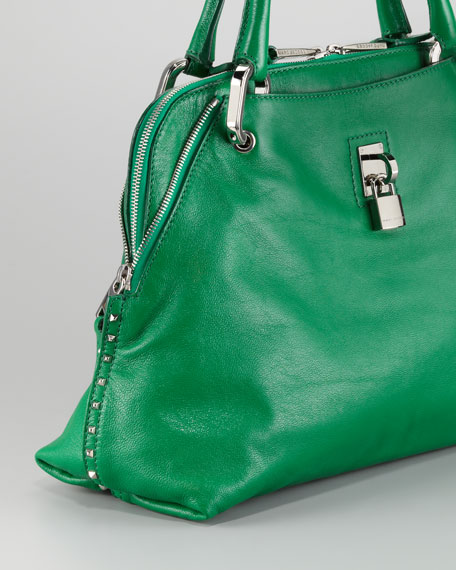 Rio Satchel Bag, Green