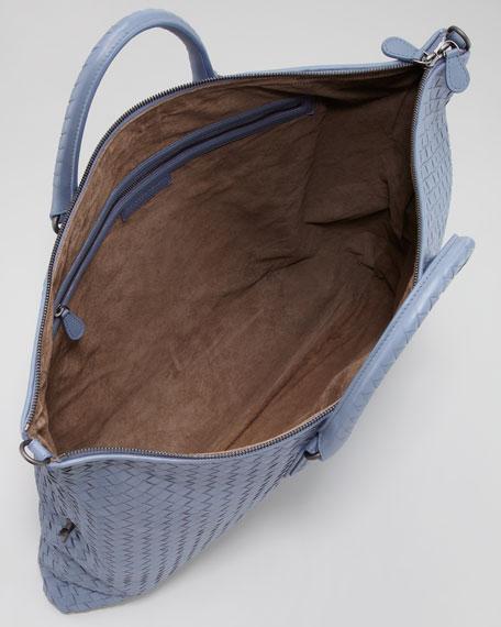 Convertible Veneta Tote Bag, Blue