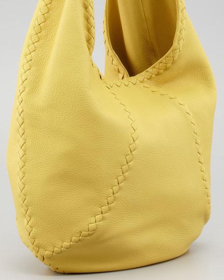 Cervo Large Hobo Bag, Yellow