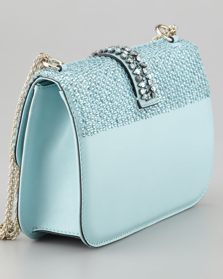 Glam Lock Flap Shoulder Bag
