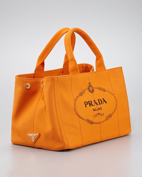 a13c295d7101 Prada Canvas Small Gardener's Small Tote Bag