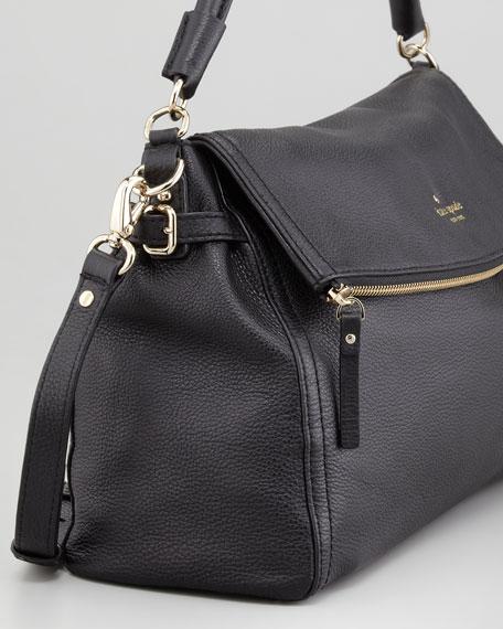 cobble hill little minka crossbody bag, black