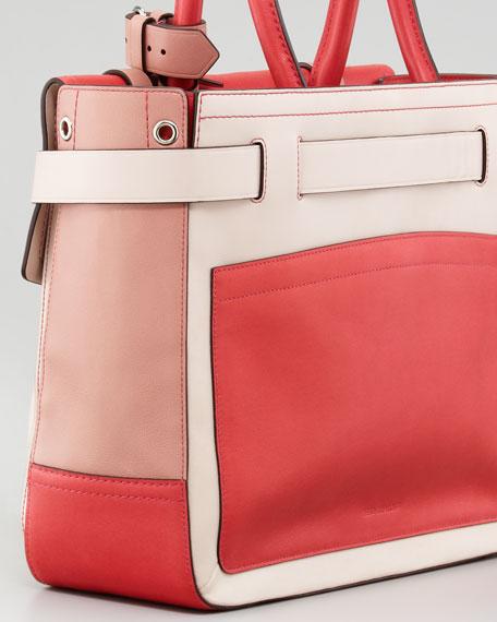 Glazed Boxer Tote Bag, Multicolor