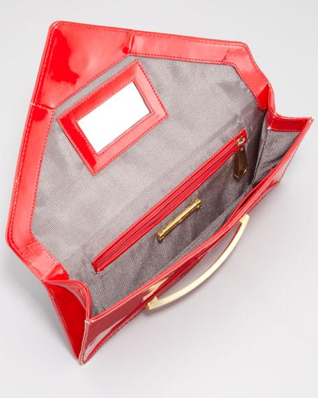 Marlene Envelope Clutch Bag, Poppy