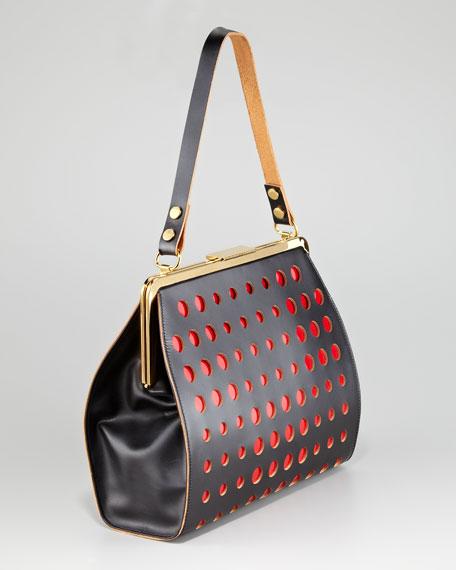 Dot Frame Handbag