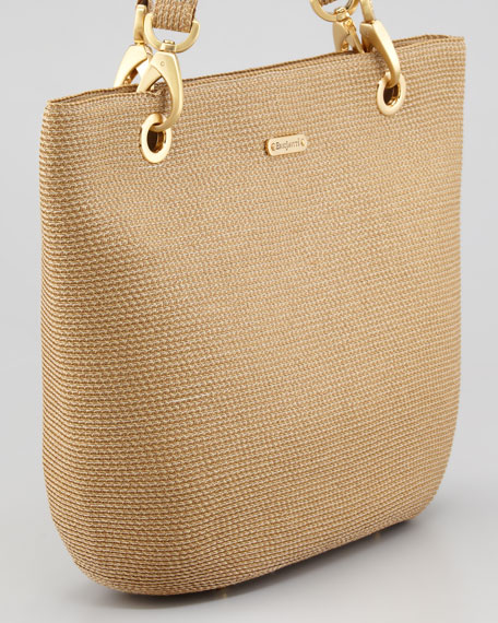 Squishee Clip Tote Bag, Natural