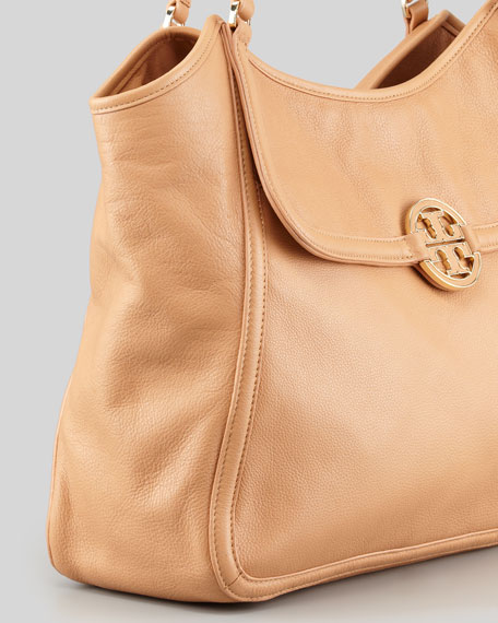 Amanda Slouchy Easy Tote Bag, Tan