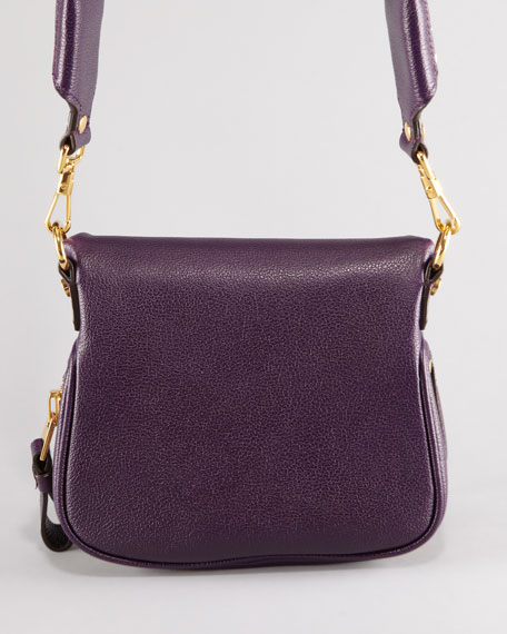 Jennifer Mini Crossbody Bag, Plum