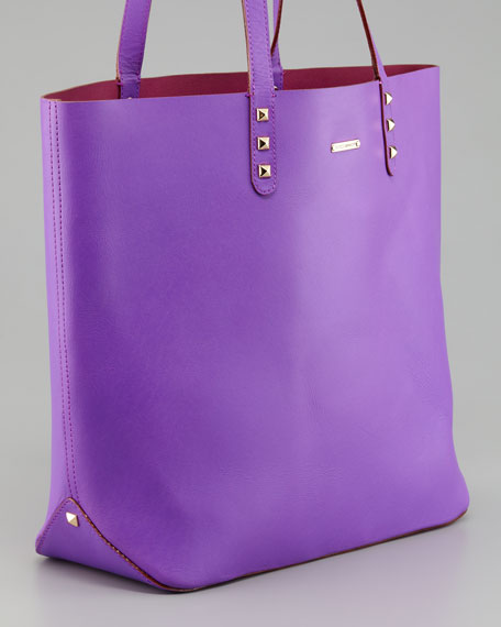 Dylan Tote Bag, Purple