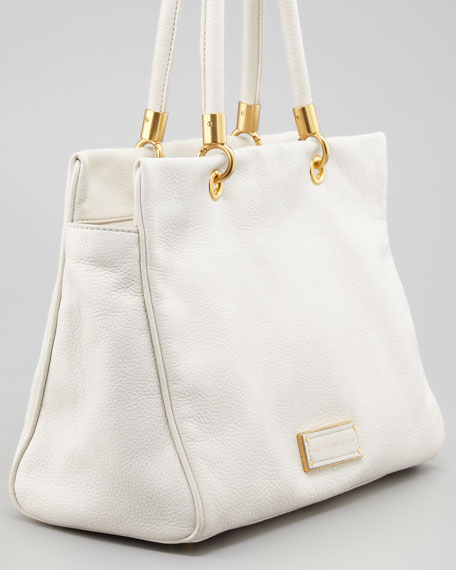 Too Hot To Handle Tote Bag, White