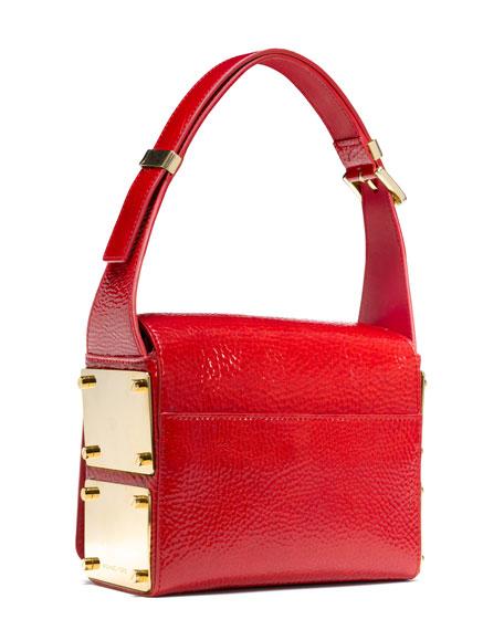 Moffit Boxy Pebbled Shoulder Bag