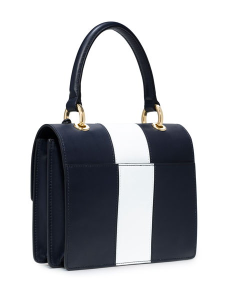 Middleton Colorblock Square Flap Bag