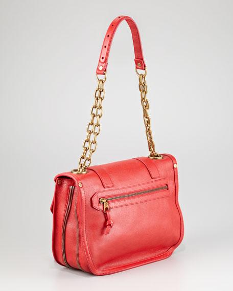 PS1 Mini Messenger Bag, Red