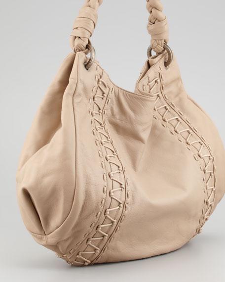 Isandra Hobo Bag, Tusk