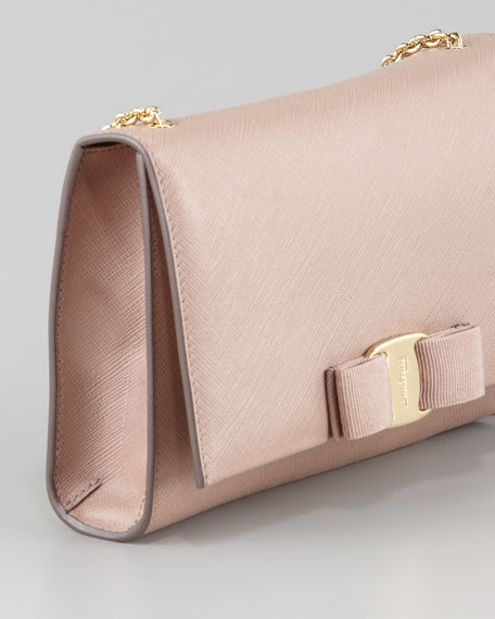 Miss Vara Bow Clip Shoulder Bag, Rose
