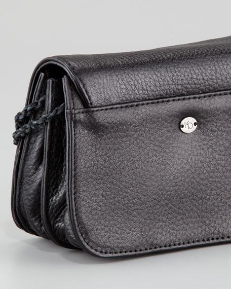 Tyler Bead-Front Crossbody Bag