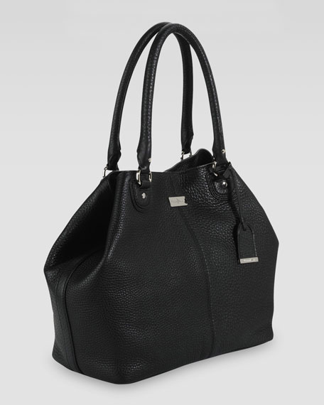 Village Convertible Tote Bag, Black