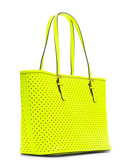Small Jet Set Perforated Travel Tote
