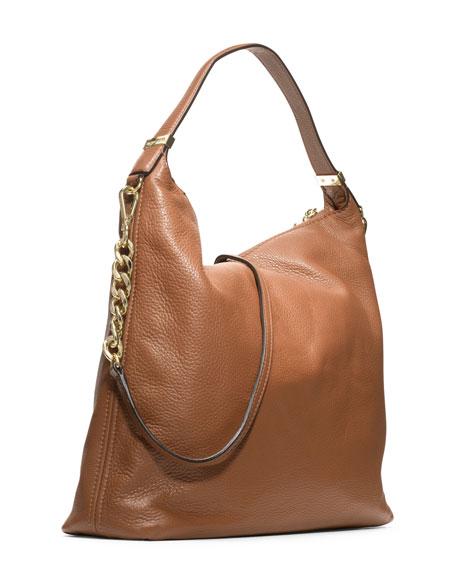MICHAEL Michael Kors Large Bedford Tassel Pebbled Shoulder Bag