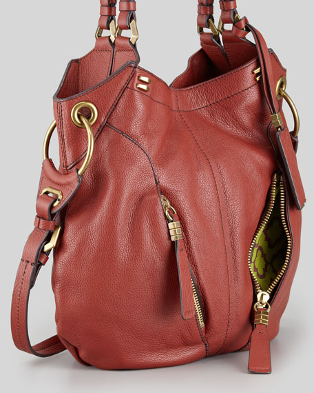 Gwen Shoulder Bag, Red